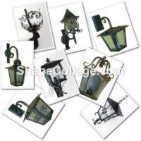 Lanterne ferro battuto